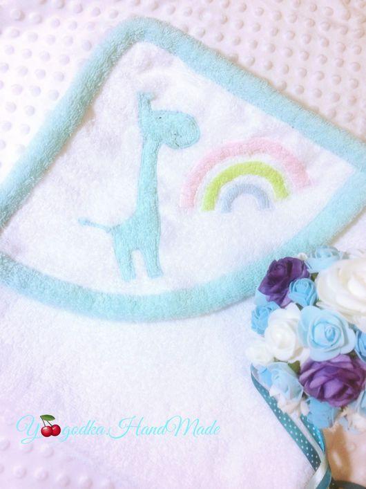 Ванная комната ручной работы. Ярмарка Мастеров - ручная работа. Купить Махровое полотенце с веселым капюшоном. Handmade. Полотенце