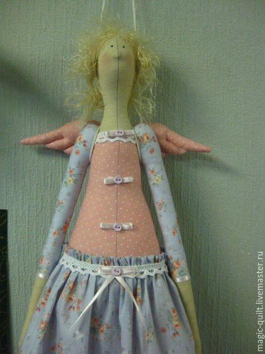 Куклы Тильды ручной работы. Ярмарка Мастеров - ручная работа. Купить -20%  Летний ангел. Handmade. Комбинированный, выгодная цена