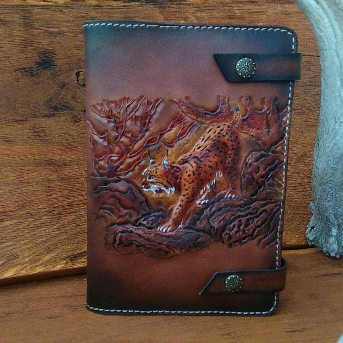 Calendar of leather ' Lynx', Diaries, Ryazan,  Фото №1