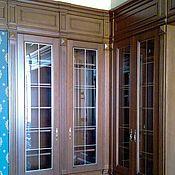 Для дома и интерьера handmade. Livemaster - original item Cabinet built-in for books. Handmade.