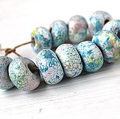 Материалы для творчества handmade. Livemaster - original item ceramic beads