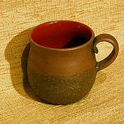 """Посуда ручной работы. Ярмарка Мастеров - ручная работа кружка """"кубышка"""". Handmade."""