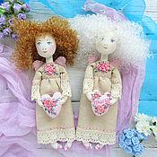 Куклы и игрушки ручной работы. Ярмарка Мастеров - ручная работа Именной ангел текстильная кукла – оригинальный подарок. Handmade.
