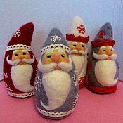 Подарки к праздникам ручной работы. Ярмарка Мастеров - ручная работа Новогодняя игрушка Дед Мороз. Handmade.
