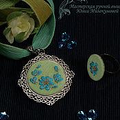 Свадебный салон handmade. Livemaster - original item Embroidered set Ailor. Handmade.