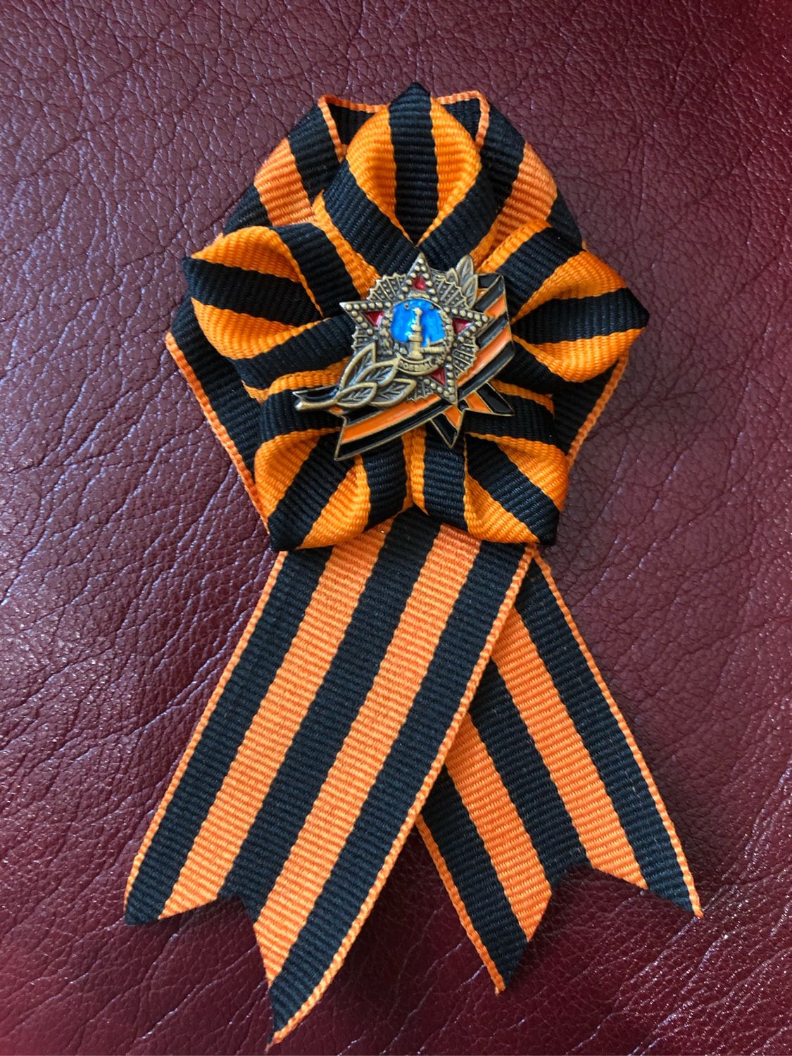 Brooch on may 9 ORDER of the STAR, Brooches, Moscow,  Фото №1