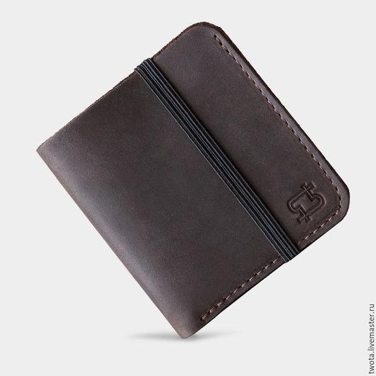 """Кошельки и визитницы ручной работы. Ярмарка Мастеров - ручная работа. Купить кошелёк """"Smart Wallet"""". Handmade. Кошелек, коричневый"""
