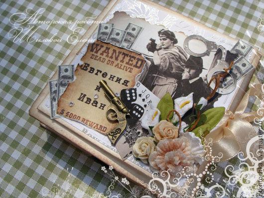 """Конверты для денег ручной работы. Ярмарка Мастеров - ручная работа. Купить коробочка для денежного подарка """"гангстерская свадьба"""". Handmade. Свадьба"""