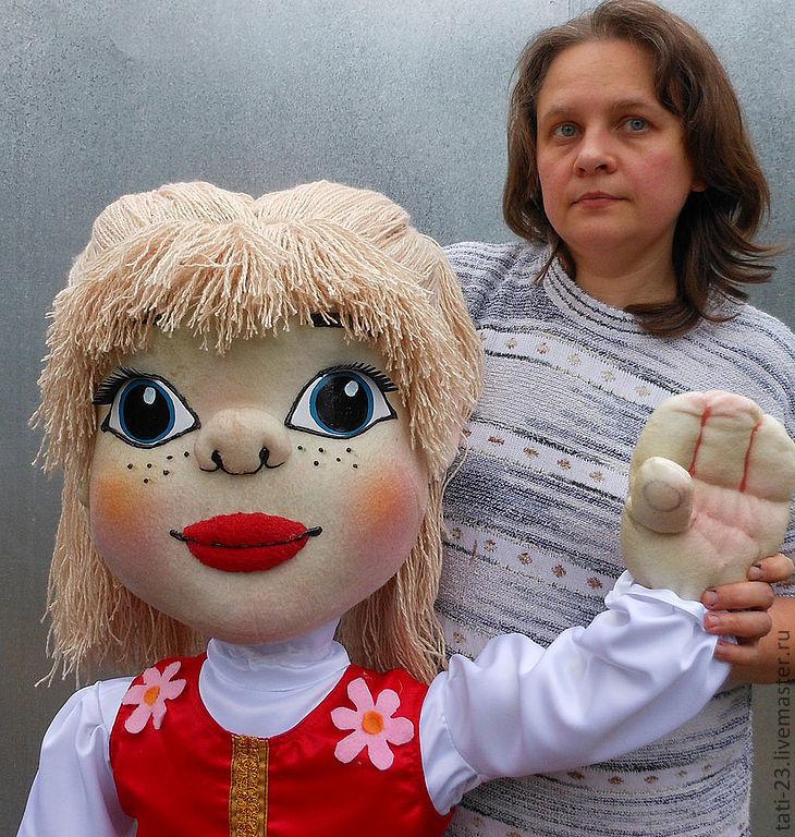 Купить Кукольный спектакль. Набор театральных планшетных кукол - кукольный театр, театральная кукла