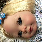 Куклы и игрушки ручной работы. Ярмарка Мастеров - ручная работа Юная Барышня Сюзанна в голубом. Handmade.