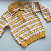 Работы для детей, handmade. Livemaster - original item Jumper for boy 2 - 3,5 years. Handmade.
