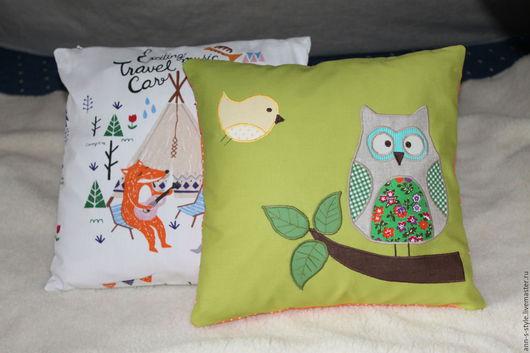 Подушка `Мудрая сова`
