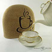 Для дома и интерьера handmade. Livemaster - original item The tea cosy is a useful accessory for the kitchen. Handmade.