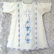 """Работы для детей, ручной работы. Ярмарка Мастеров - ручная работа Рубашка крестильная и чепчик """"Лилия"""". Handmade."""
