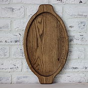 Для дома и интерьера handmade. Livemaster - original item tray made of oak, laurel, walnut color. Handmade.