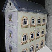 """Куклы и игрушки ручной работы. Ярмарка Мастеров - ручная работа Кукольный дом """"Лавандовый прованс"""" (с мебелью). Handmade."""