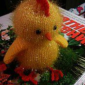 Куклы и игрушки ручной работы. Ярмарка Мастеров - ручная работа Петух, цыпленок. Handmade.