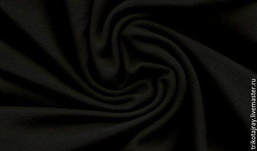 """Шитье ручной работы. Ярмарка Мастеров - ручная работа. Купить Футер 3-х нитка с начесом """"черный"""". Handmade. Футер"""