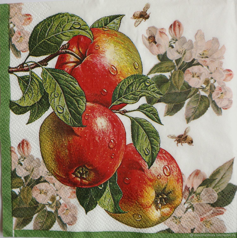 Картинки с яблоками для декупажа