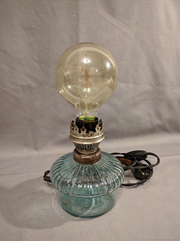 Kerosene lamp table lamp, Table lamps, Permian,  Фото №1