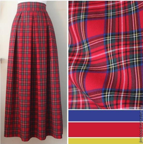 Как сшить шотландская юбка