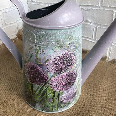 Цветы и флористика ручной работы. Ярмарка Мастеров - ручная работа Лейка для полива цветов. Handmade.