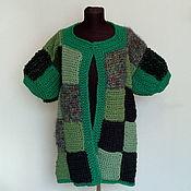 Одежда handmade. Livemaster - original item COAT GREEN