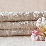 Материалы для творчества ручной работы. Ярмарка Мастеров - ручная работа Плюш винтажный белый. Handmade.