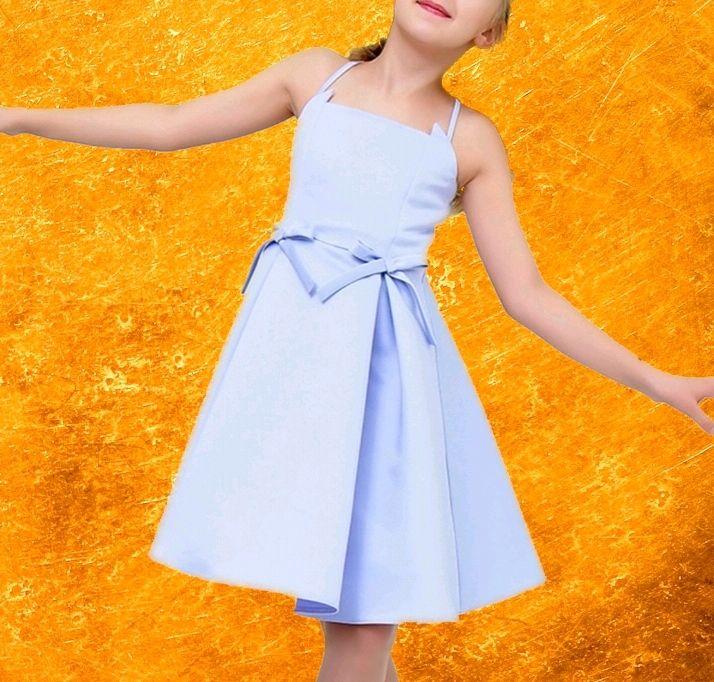 Арт. ФД-02/03-05. Детское платье из хлопка Marina, Платья, Москва,  Фото №1