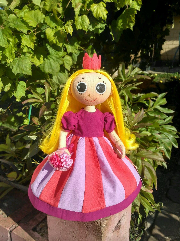 Кукла текстильная игровая Принцесса, Куклы, Уфа, Фото №1