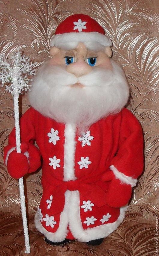 Подарочное оформление бутылок ручной работы. Ярмарка Мастеров - ручная работа. Купить Дед Мороз с сюрпризом.. Handmade. Мороз, бутылка
