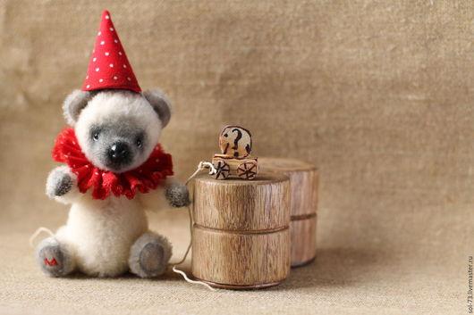 Мишки Тедди ручной работы. Ярмарка Мастеров - ручная работа. Купить Миша  11,5 см.. Handmade. Мишки тедди