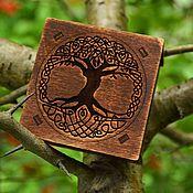 """Фен-шуй и эзотерика ручной работы. Ярмарка Мастеров - ручная работа Набор рун """"Древо тёмного мира"""". Handmade."""