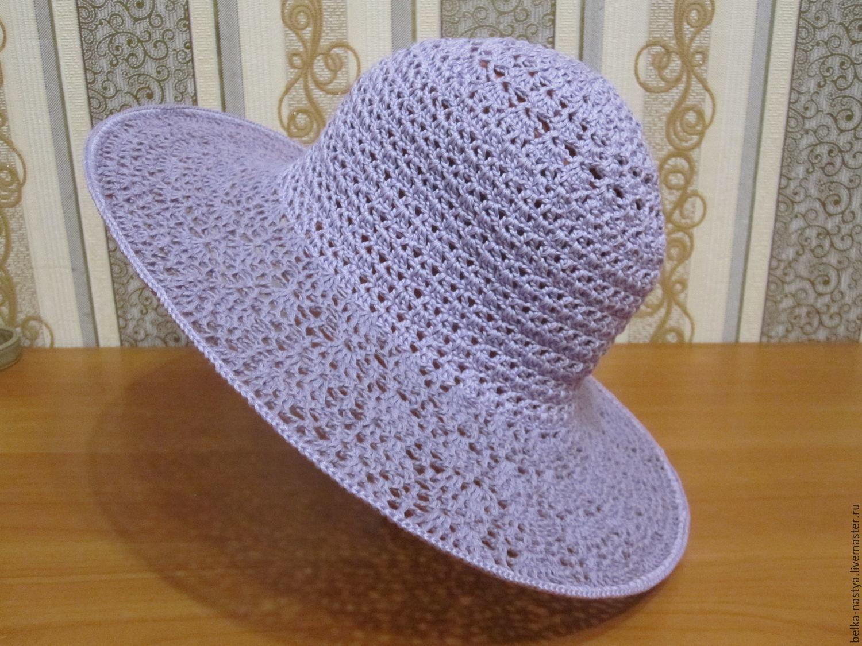 Вязание шляпки фото и описание летние