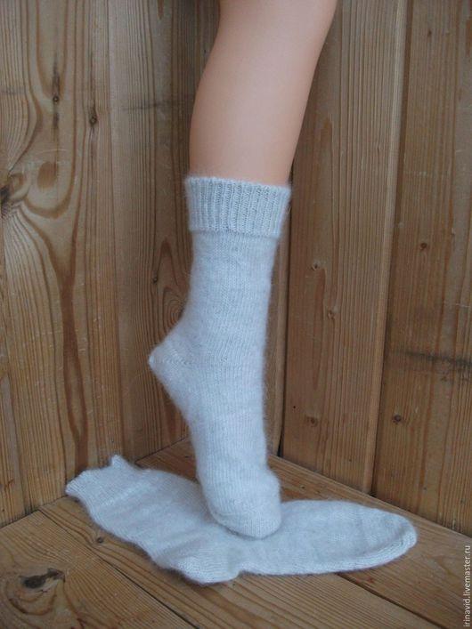 Носки, Чулки ручной работы. Ярмарка Мастеров - ручная работа. Купить Носки из собачьей шерсти. Handmade. Носки из собачьей шерсти