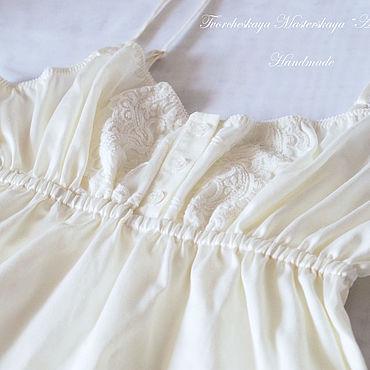 Одежда ручной работы. Ярмарка Мастеров - ручная работа Белье: Сорочка из сатина Премиум Сладкие сны. Handmade.