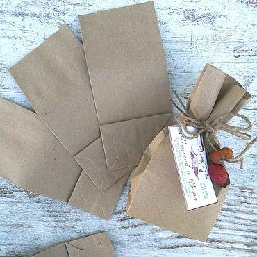 Бумажный пакет Крафт