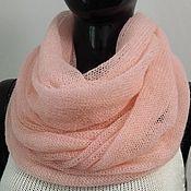 Аксессуары handmade. Livemaster - original item Snudy: Snood knitted from kid-mohair. Handmade.