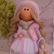 Куклы и пупсы ручной работы. Ярмарка Мастеров - ручная работа Текстильная куколка- малышка Лолочка. Handmade.