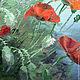 Картины цветов ручной работы. Заказать Картина маслом  Маки. Авторская картина маслом на холсте.. Счастье есть! И оно здесь.... Ярмарка Мастеров.