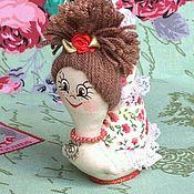 Куклы и игрушки ручной работы. Ярмарка Мастеров - ручная работа Улитка-игольница. Handmade.