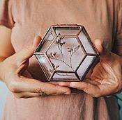 handmade. Livemaster - original item Box for wedding rings or jewelry. Handmade.