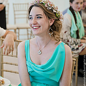 Одежда ручной работы. Ярмарка Мастеров - ручная работа Платье подружки невесты-3. Handmade.