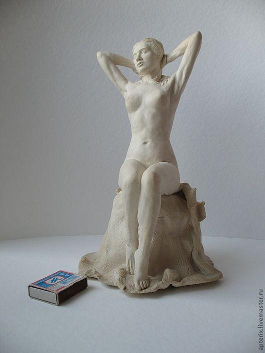 """Статуэтки ручной работы. Ярмарка Мастеров - ручная работа. Купить Статуэтка """"Виктория"""". Handmade. Белый, изящество, фаянс"""