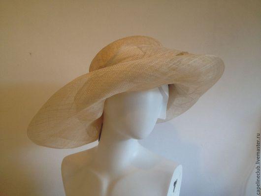 Шляпы ручной работы. Ярмарка Мастеров - ручная работа. Купить Широкополая шляпа из синамей. Handmade. Синамей, широкополая шляпа, синамей