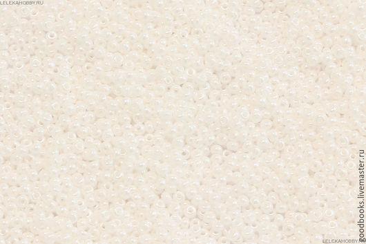 Для украшений ручной работы. Ярмарка Мастеров - ручная работа. Купить Бисер Preciosa круглый 8 #46102 непрозрачный/жемчужный белый. Handmade.