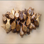Подарки к праздникам ручной работы. Ярмарка Мастеров - ручная работа Рыбки  ручная работа. Handmade.