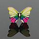 """Шитье ручной работы. Пуговицы деревянные """"Butterfly"""". Лот 50 шт.. ' Шёлковый путь' (Ольга). Ярмарка Мастеров."""