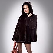 Одежда handmade. Livemaster - original item Mink coat, Scanblack. Handmade.