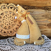 Куклы и игрушки ручной работы. Ярмарка Мастеров - ручная работа Кофейные котики-неразлучники. Handmade.